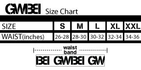 Size Chart Underwear