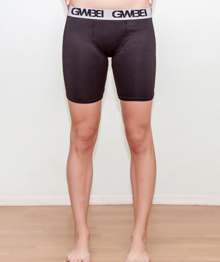 Signature Dri-Fit Bike Shorts Made with 80% Polyester and 20% Spandex