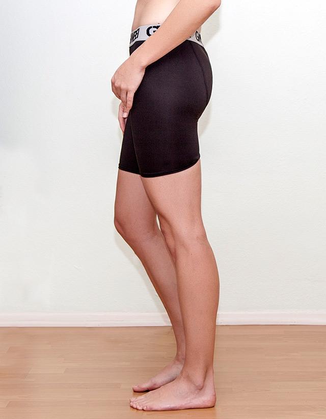GWBB Black Bike Shorts For Women